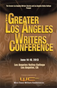 Greater Los Angeles Writers Conference 2013 flyer